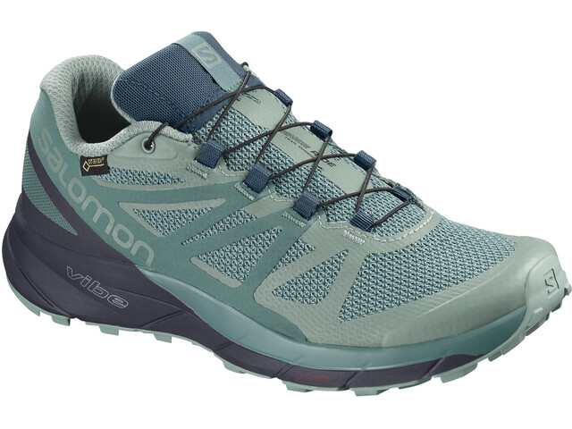 2d043bbbd670 ▷ Salomon Sense Ride GTX Invisible Fit Shoes Women Trellis Graphite ...